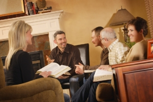 culturally specific looking Bible study group
