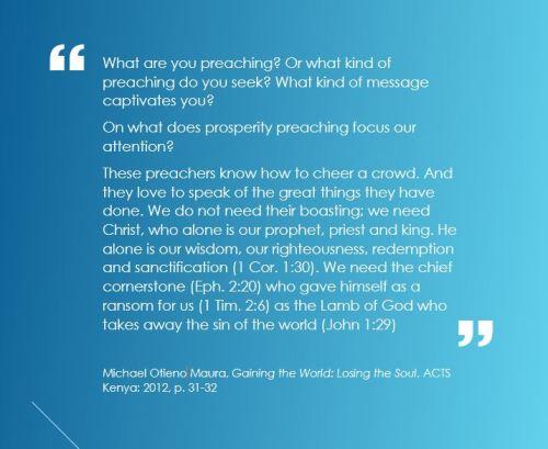 Marua preaching quote